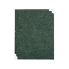 Комплект листов для значков (5ткань+5картон+5промежут.). OPTIMA. Размер листа 200 мм * 250 мм