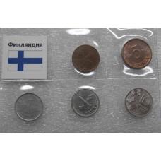 Набор монет Финляндия (5 монет)