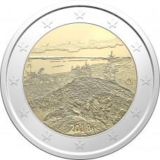 Пейзаж Коли. 2 евро 2018 года.  Финляндия (UNC)